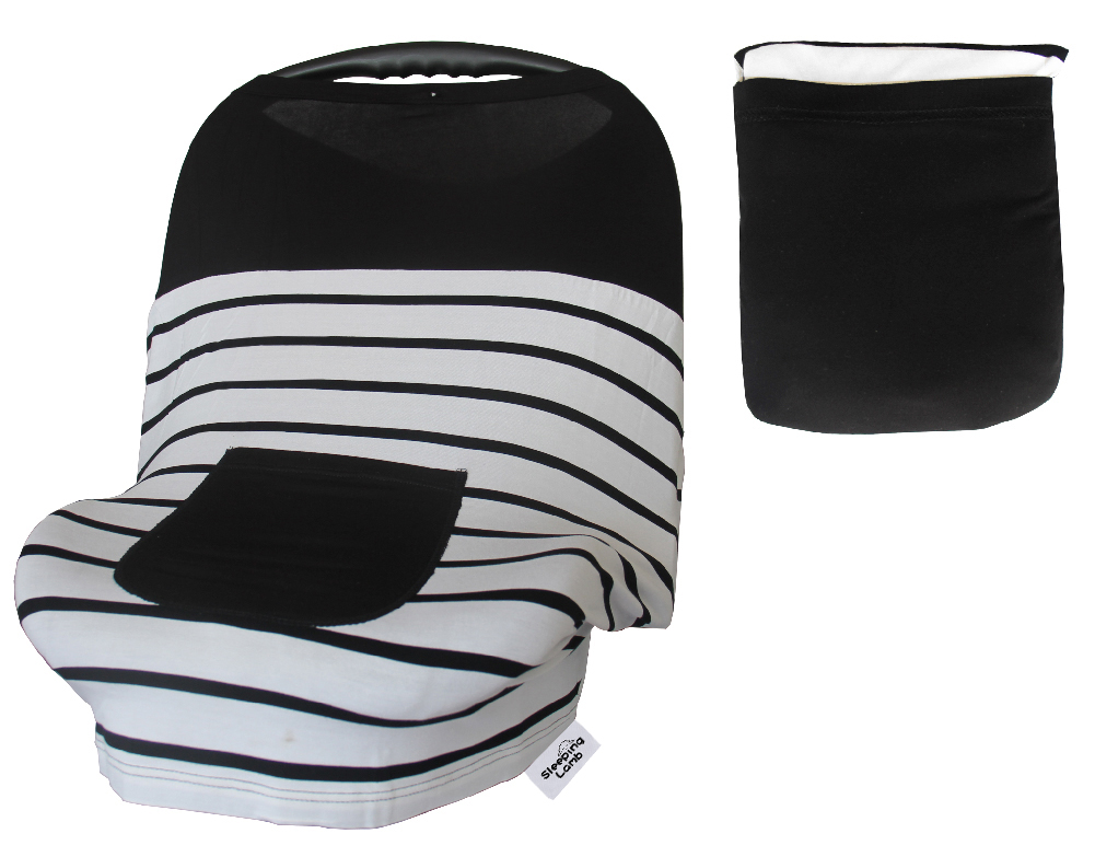 Sleeping Lamb Baby Car Seat Covers For Girls Boys