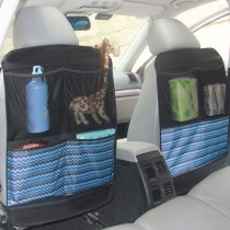 Kick Mat with 3 organizer pockets, good seat savers to protect your backseat