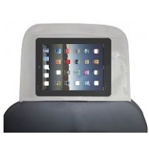 Backseat Car Organizer with Touch Screen Ipad Tablet Holder, Universal Headrest Cover