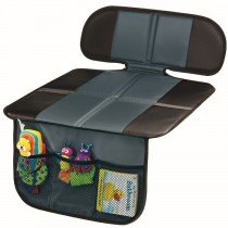 Nonskid Mat Seat Protector with Organizer (Grey)